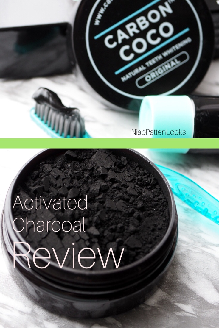 carbon coco activated charcoal tooth whitening polish review a dentist perspective. Black Bedroom Furniture Sets. Home Design Ideas